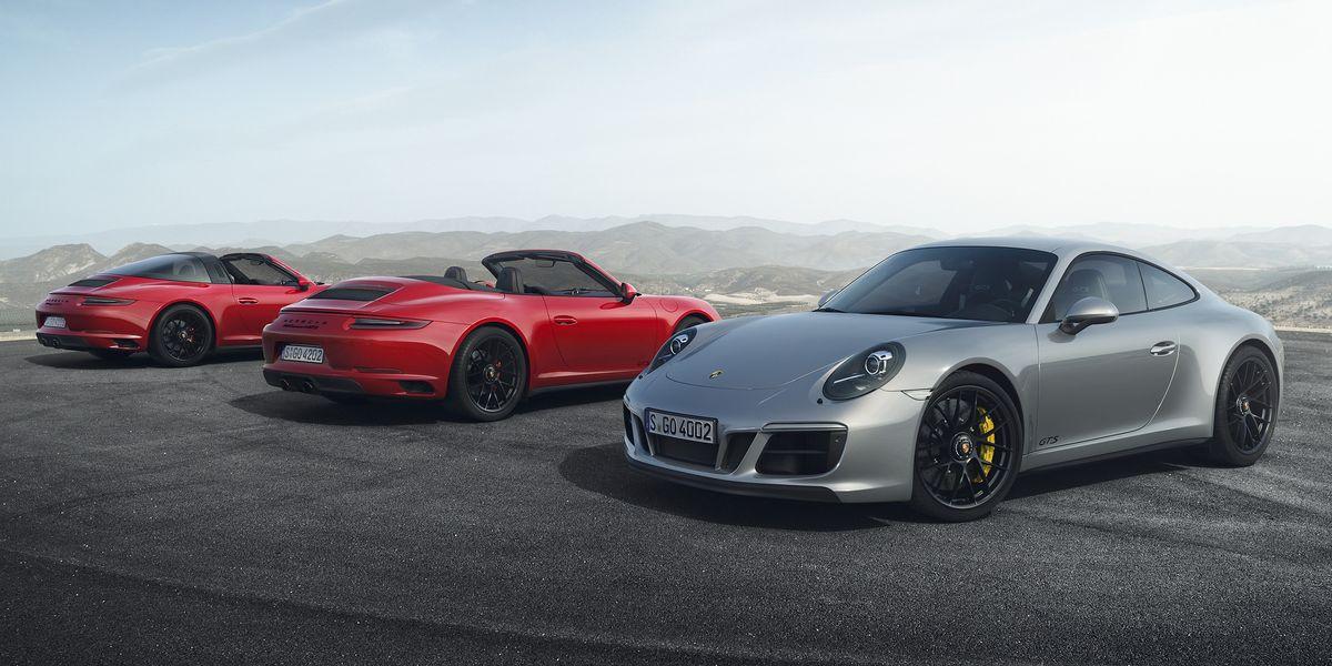 Porsche 911: Frische GTS-Modelle