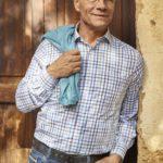 Walbusch: Klaus J. Behrendt im Extraglatt-Hemd