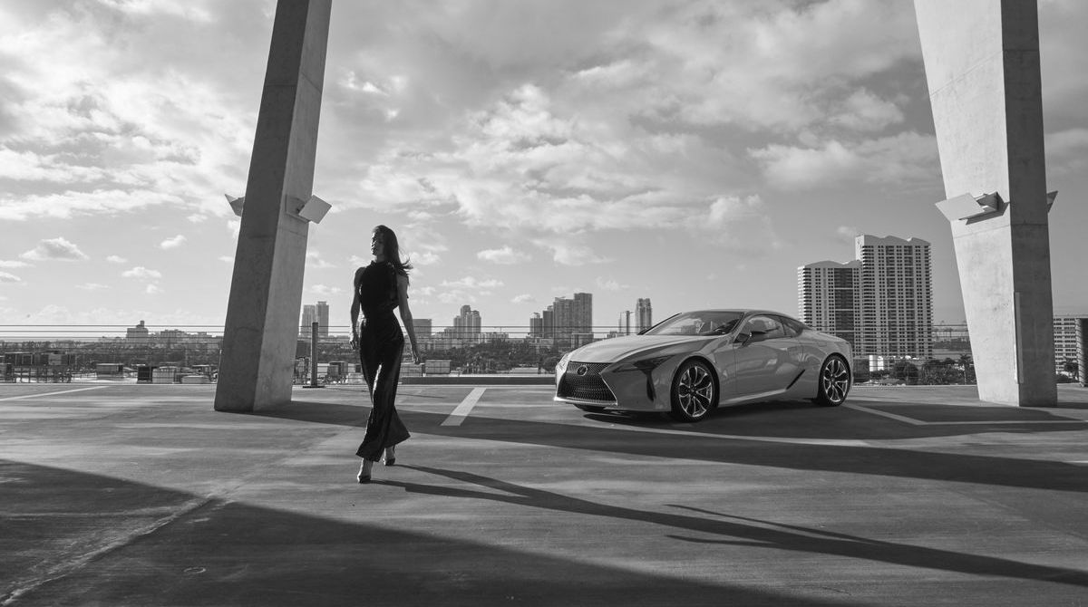 Girl meets Car, Through The Lens, Lexus LC 500