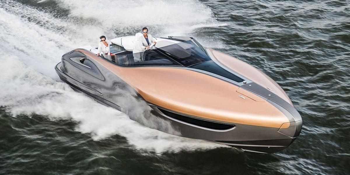 So sexy: Lexus stellt Yacht vor