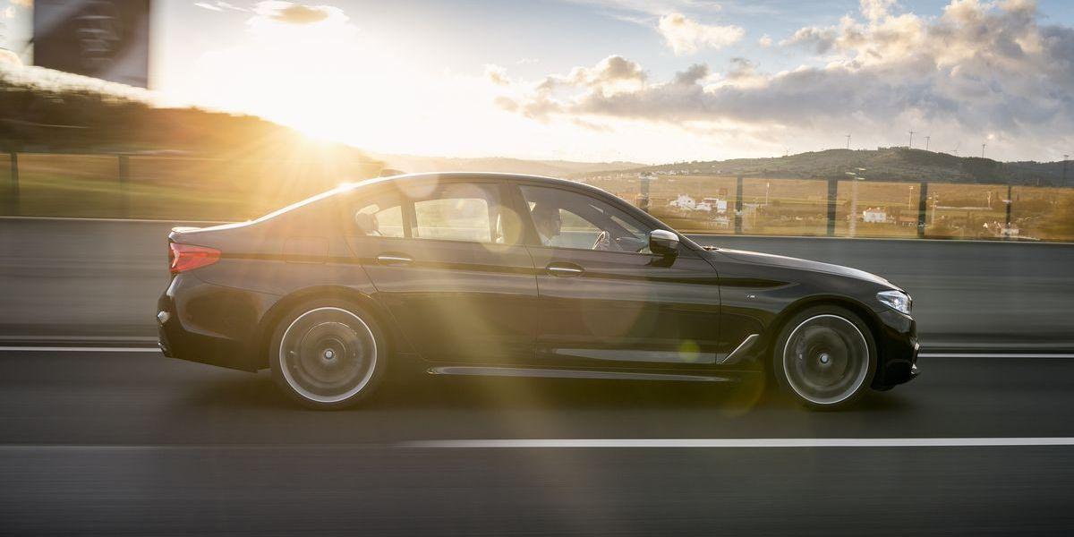 Business-Kracher: BMW M550i xDrive