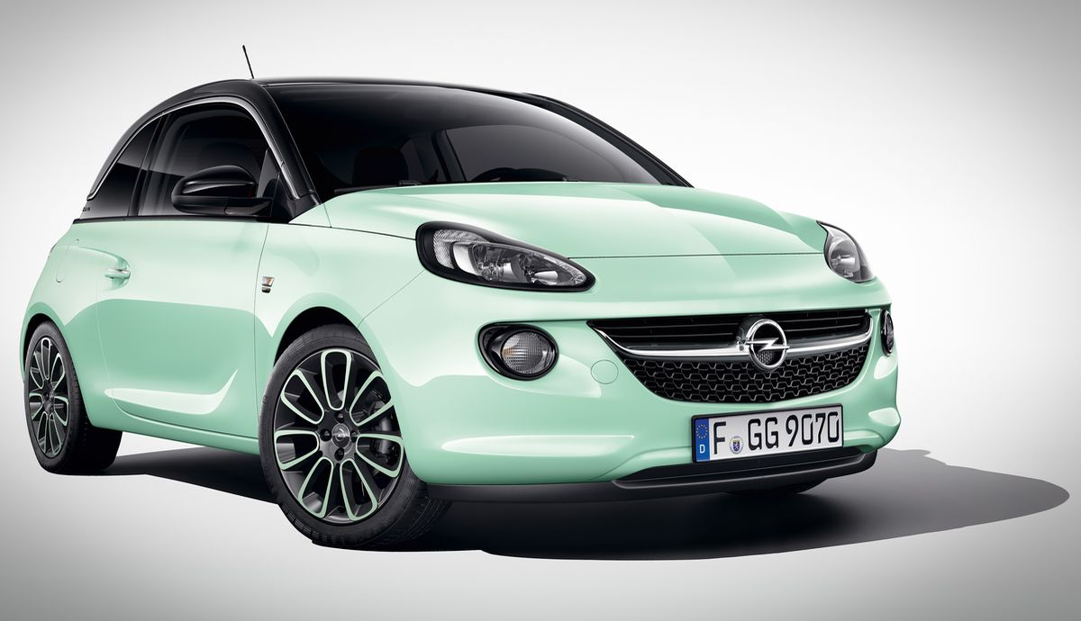 "Opel Adam ""Germany's next Topmodel"""
