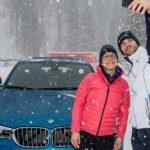 Heizen und Ballern im Schnee