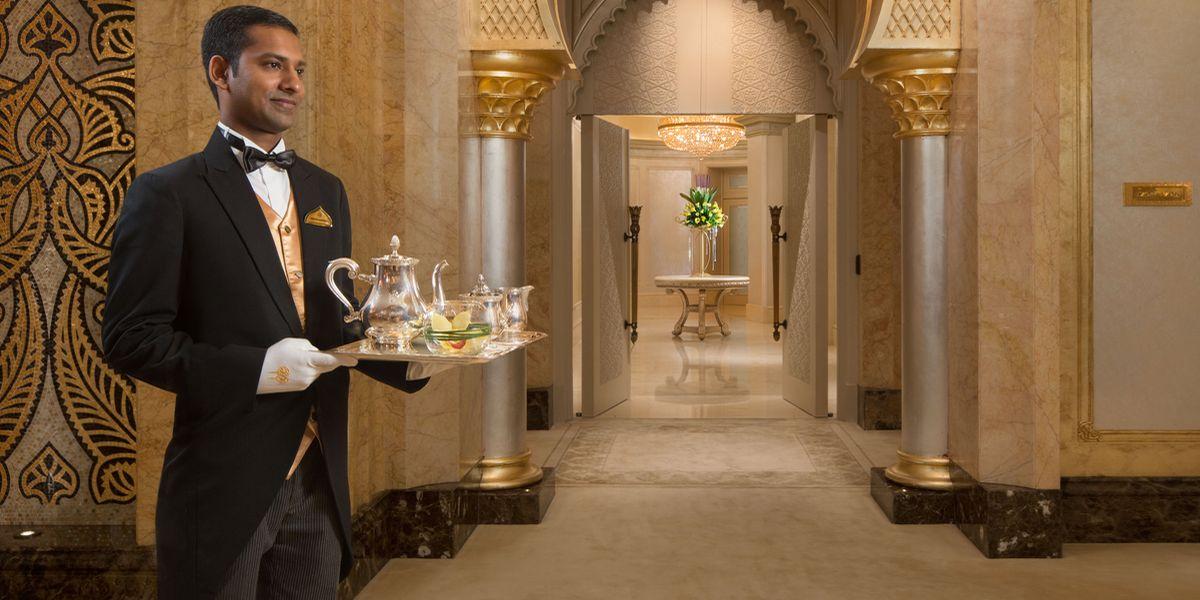 Königliches Hotel-Frühstück von Italien bis Thailand