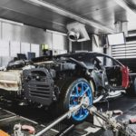Bugatti Atelier, Molsheim, Chiron Produktion