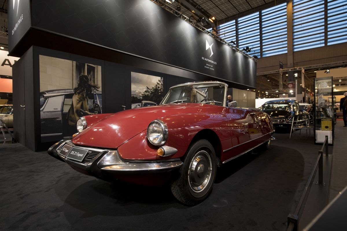 DS 21 Cabriolet Export US