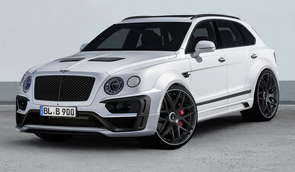 Bentley Bentayga, Lumma Design