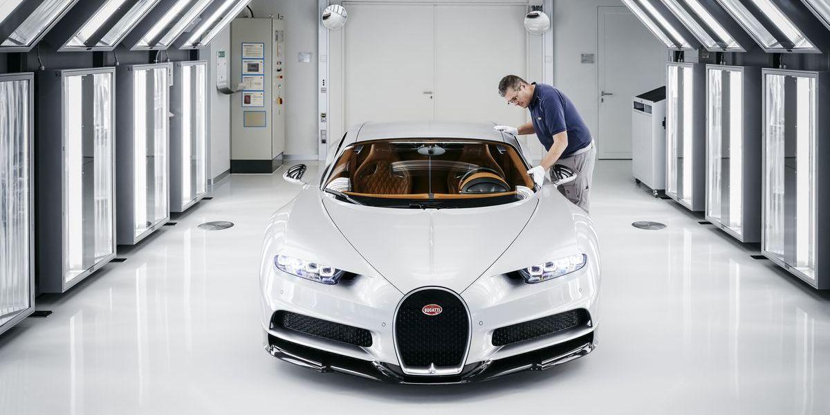 Chiron: Zu Besuch bei Bugatti in Molsheim
