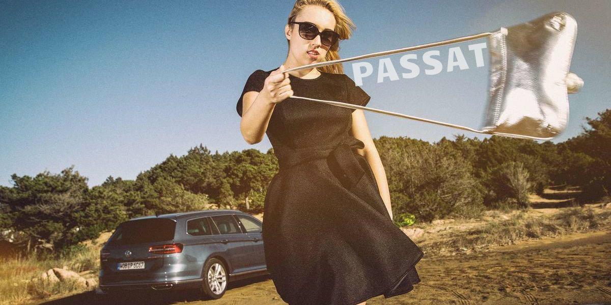 Im Shooting: VW Passat Variant 2.0 TDI SCR 4Motion DSG