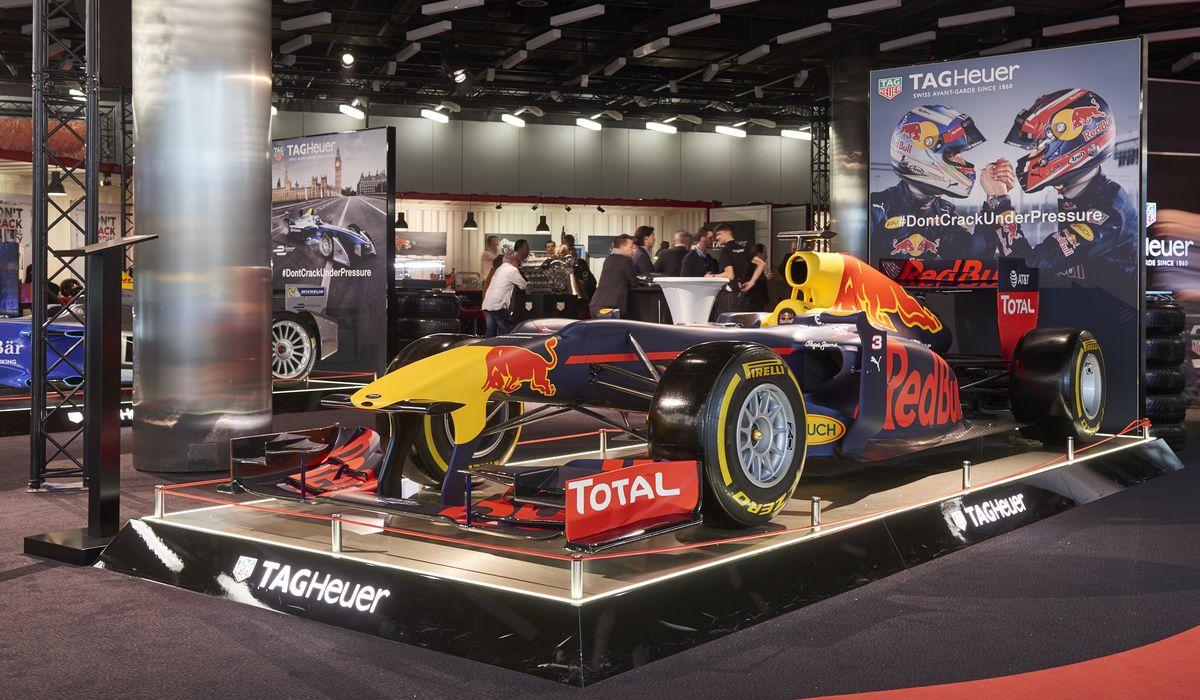 Tag Heuer mit Sonderausstellung beim Automobil-Salon Genf