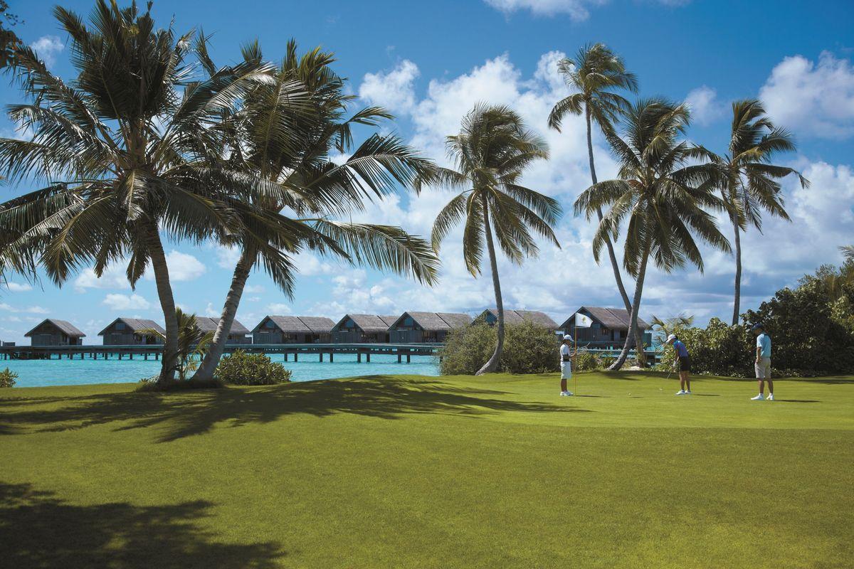 Malediven: Villingili Golf Course