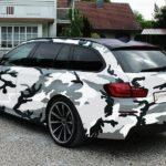 20 Zöller auf dem BMW 5er Touring