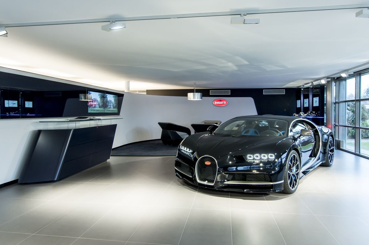 Bugatti-Showroom, Genf