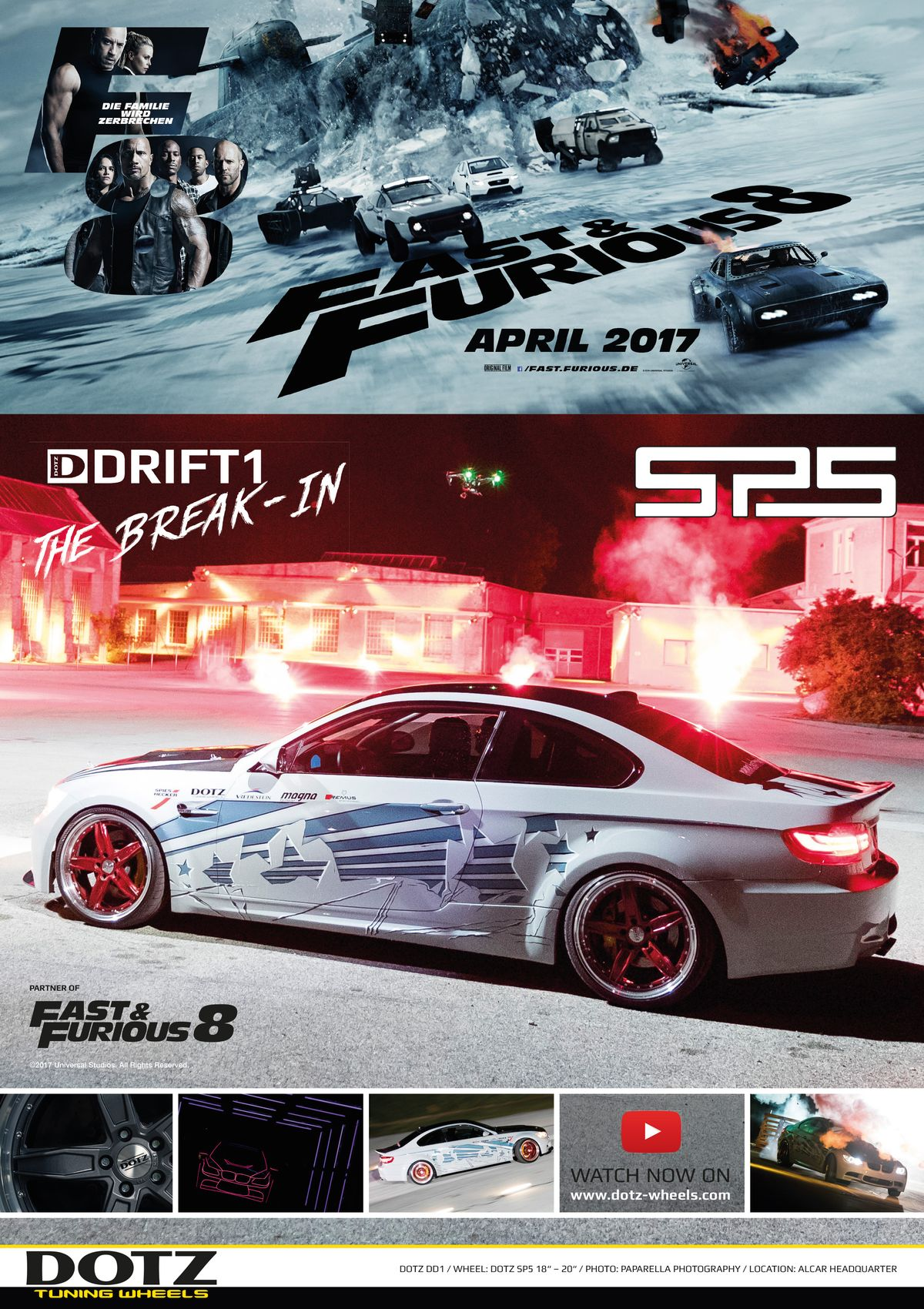 Dotz: Fast and Furious 8