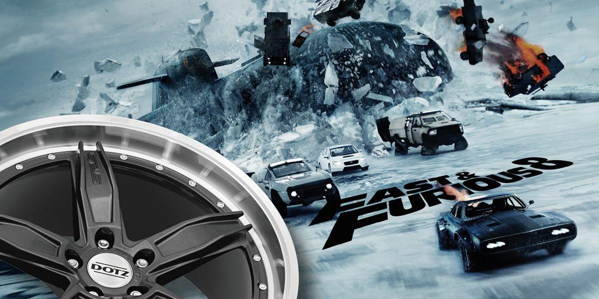 """Uuund Action: Dotz kooperiert mit """"Fast and Furious 8"""""""