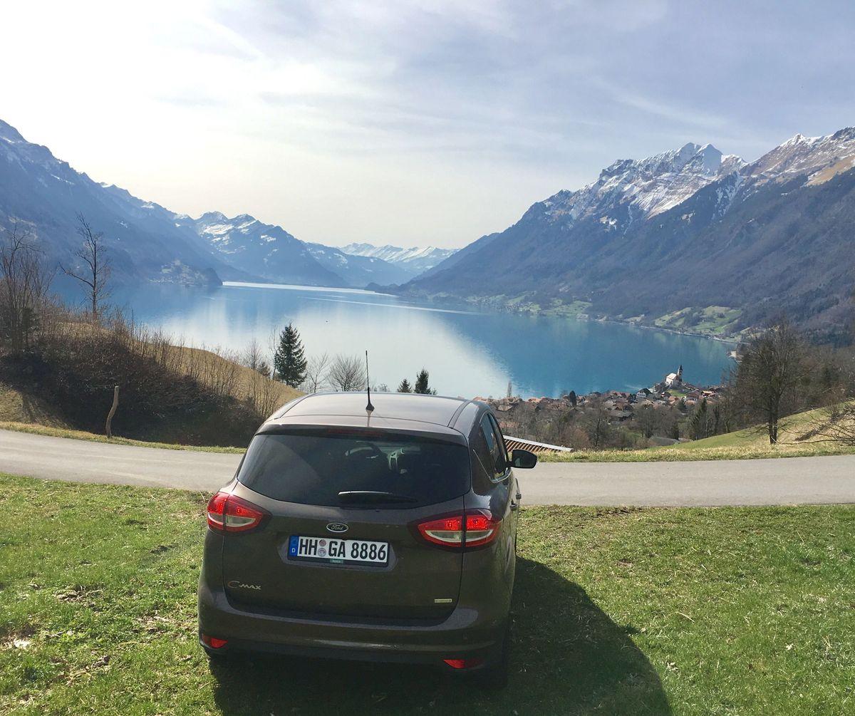 Brienzersee, Ford C-Max, Europcar
