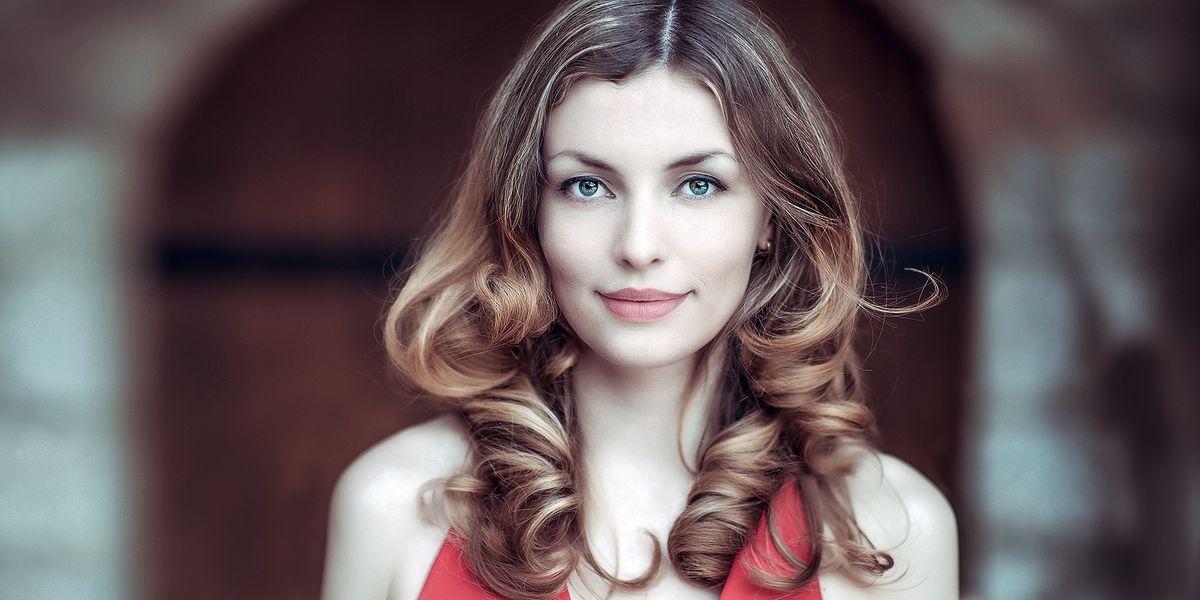Den Glow von Ivanka im Gesicht