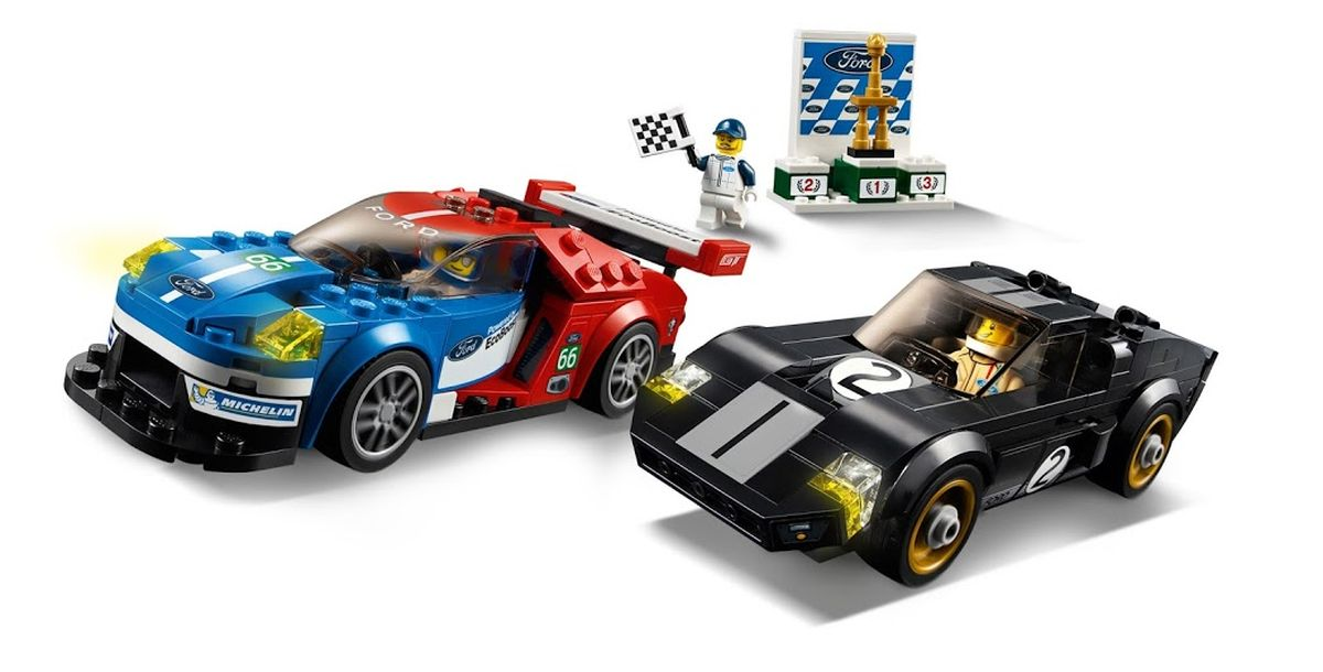 Lego Bausatz, Ford GT, Ford GT40