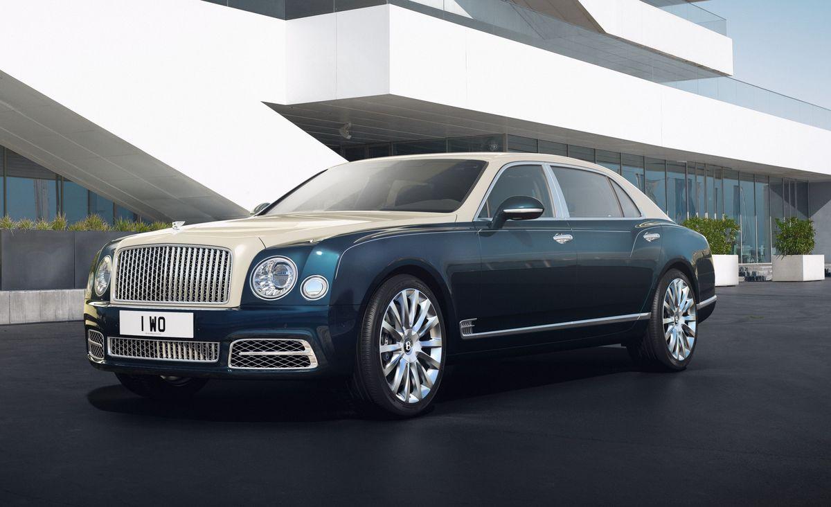 Bentley Mulsanne Hallmark-Serie Mulliner Silber