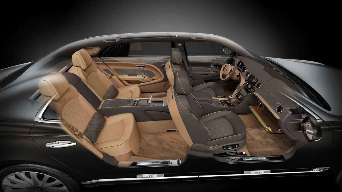Bentley Mulsanne Hallmark-Serie Mulliner Gold
