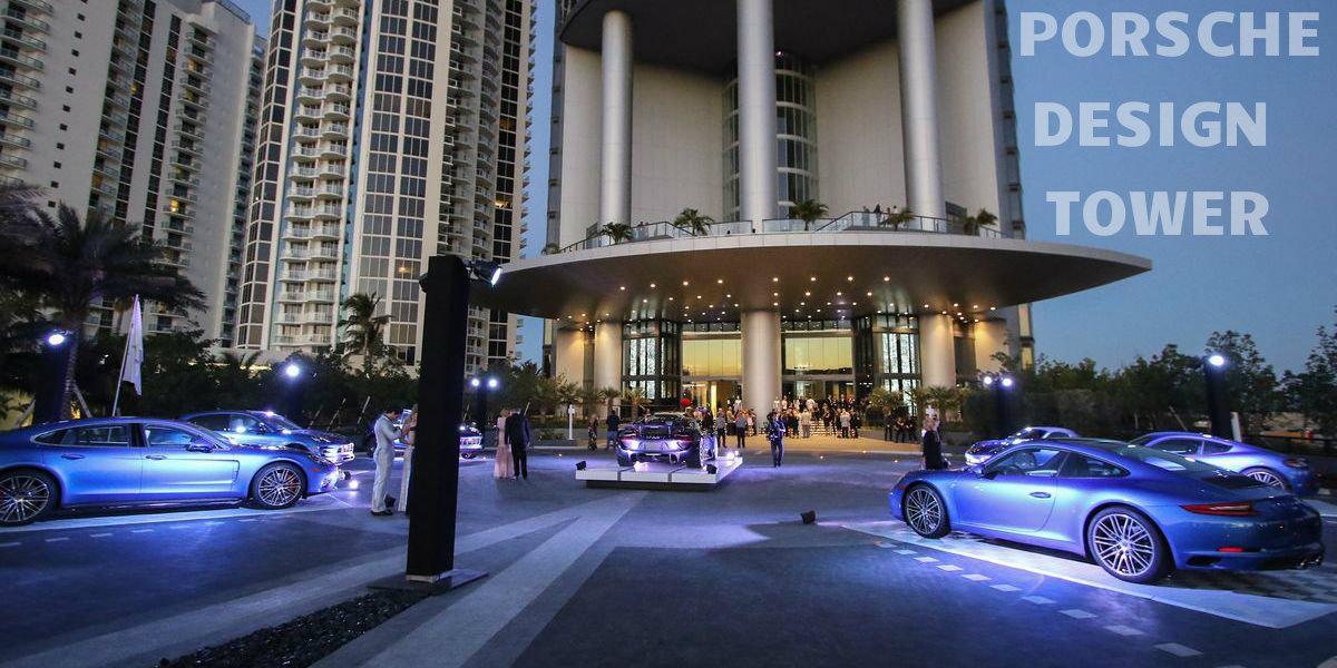 Bäääm: Porsche Design mit Tower in Miami