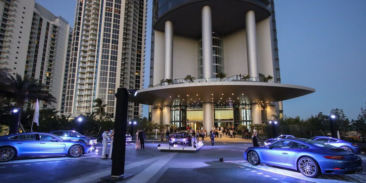 Bäääm: Porsche Design mit Tower in Miami