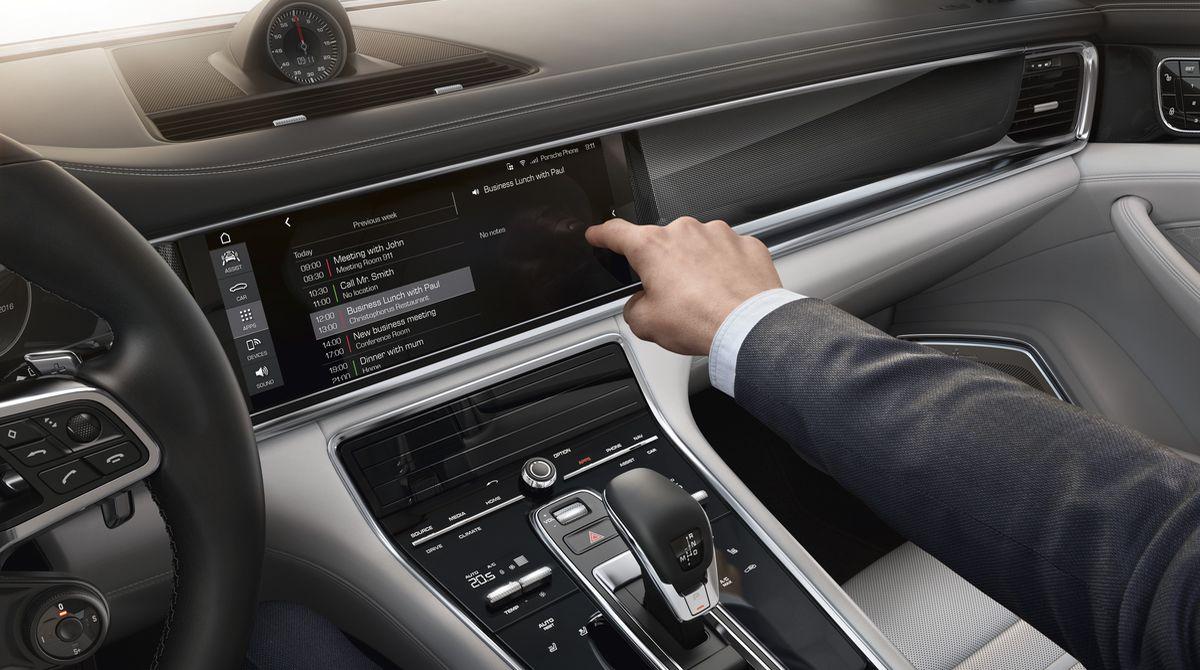 Upgrade für Porsche Connect