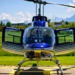 Hubschrauberflüge feiern Online-Jubiläum