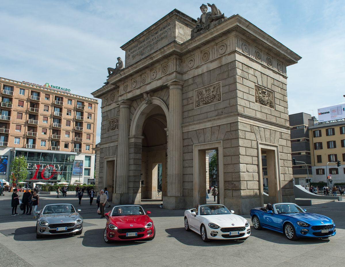 Fiat 124 Spider, Milan Design Week, Salone del Mobile Milano
