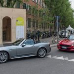 Fiat 124 Spider: Parade zur Milan Design Week