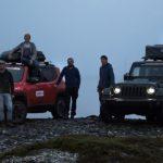 Abenteurer offroaden bis zum Nordkap