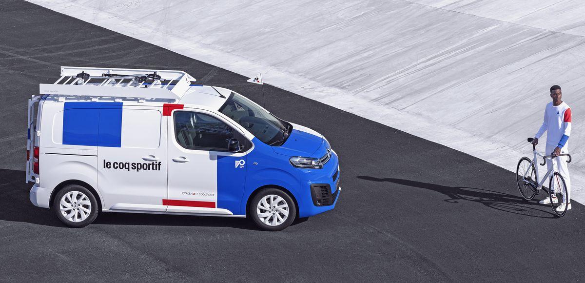 #CitroënJumpy #LeCoqSportif