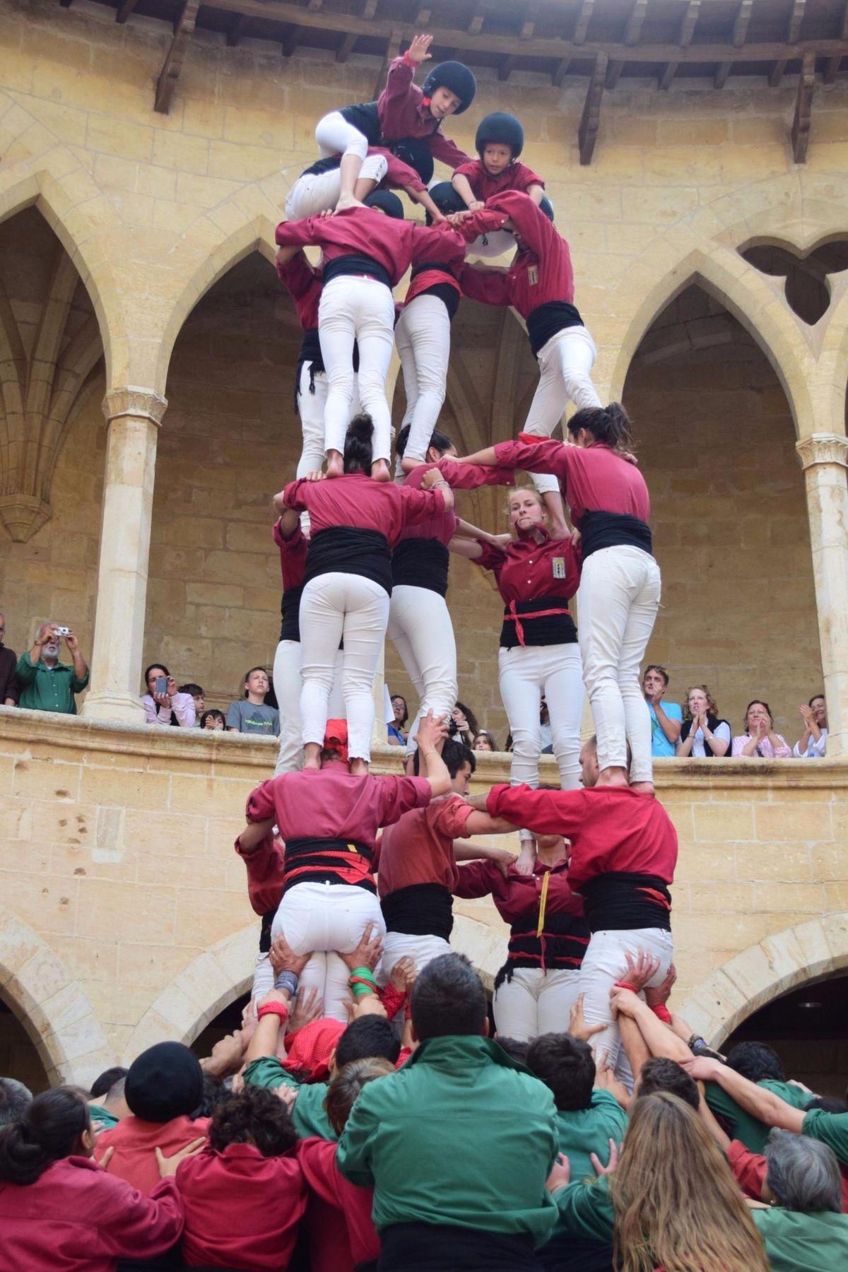 Menschenpyramiden-Fest in Palma
