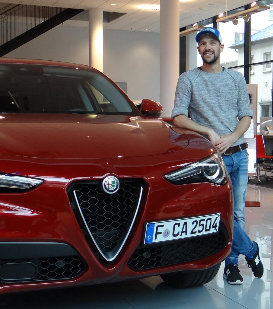 Patrick Lange, Alfa Romeo Stelvio