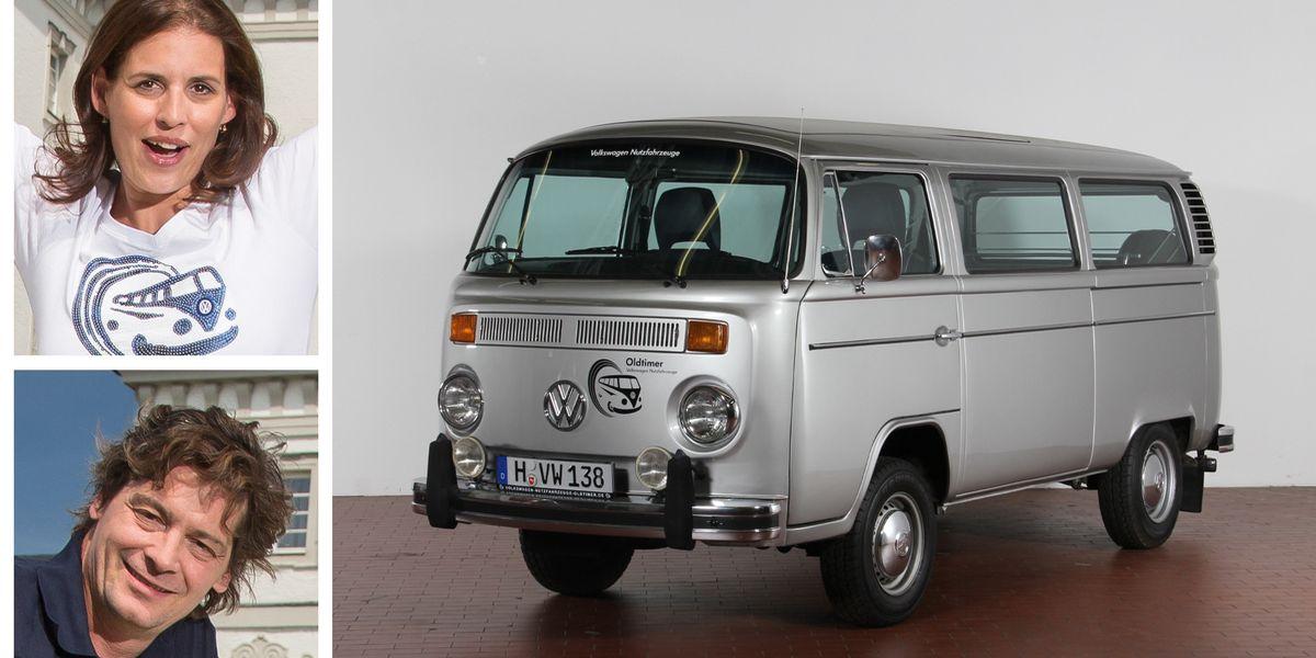 Elena Uhlig (41), Fritz Karl (49): Volkswagen T2 (1979)