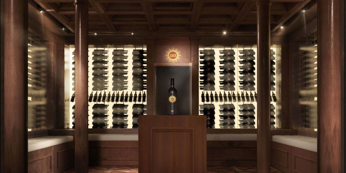 Neuer Weinkeller für Luce