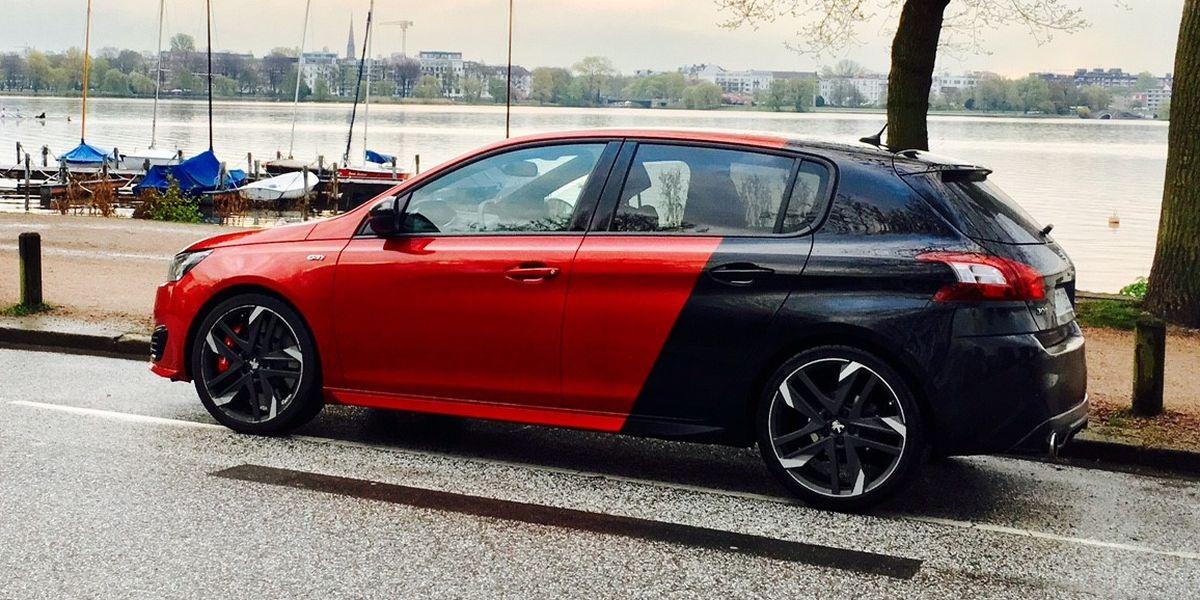 #Test Peugeot 308 GTi: Löwe im Dauerregen