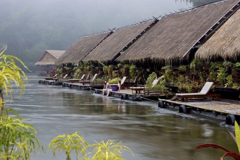 River Kwai Jungle Raft Hotel