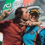 Giulias großes Rennen: Mit Benzin durchtränkt