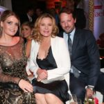 Kitty Spencer, Kim Cattrall, Russel