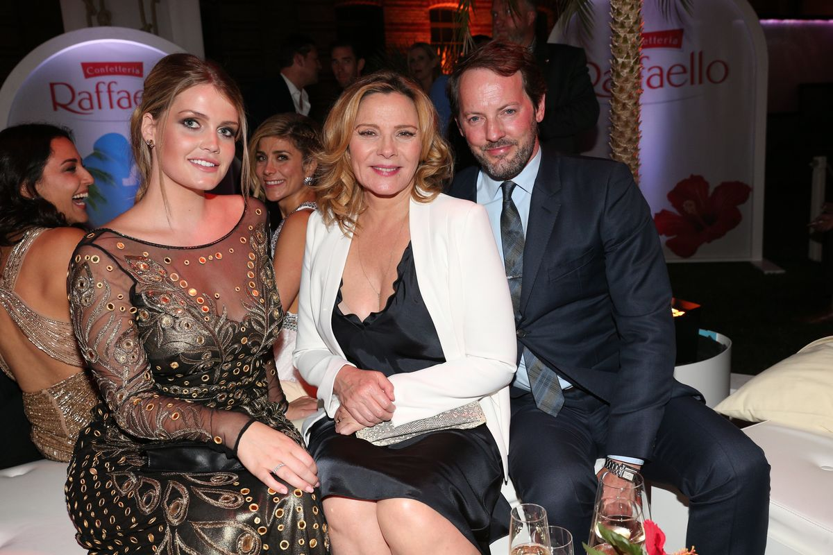 Kitty Spencer, Kim Cattrall, Freund Russel