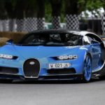 Bugatti heizt in Goodwood