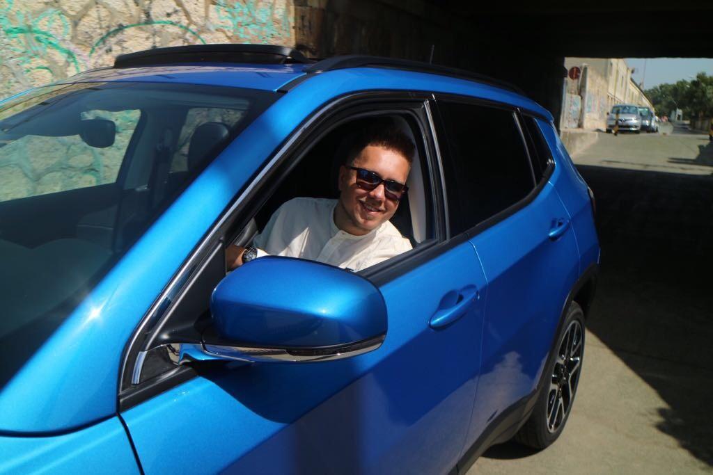 DJ Tomekk im Jeep