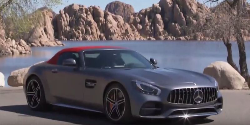 #Test Video: Mercedes-AMG GT C Roadster
