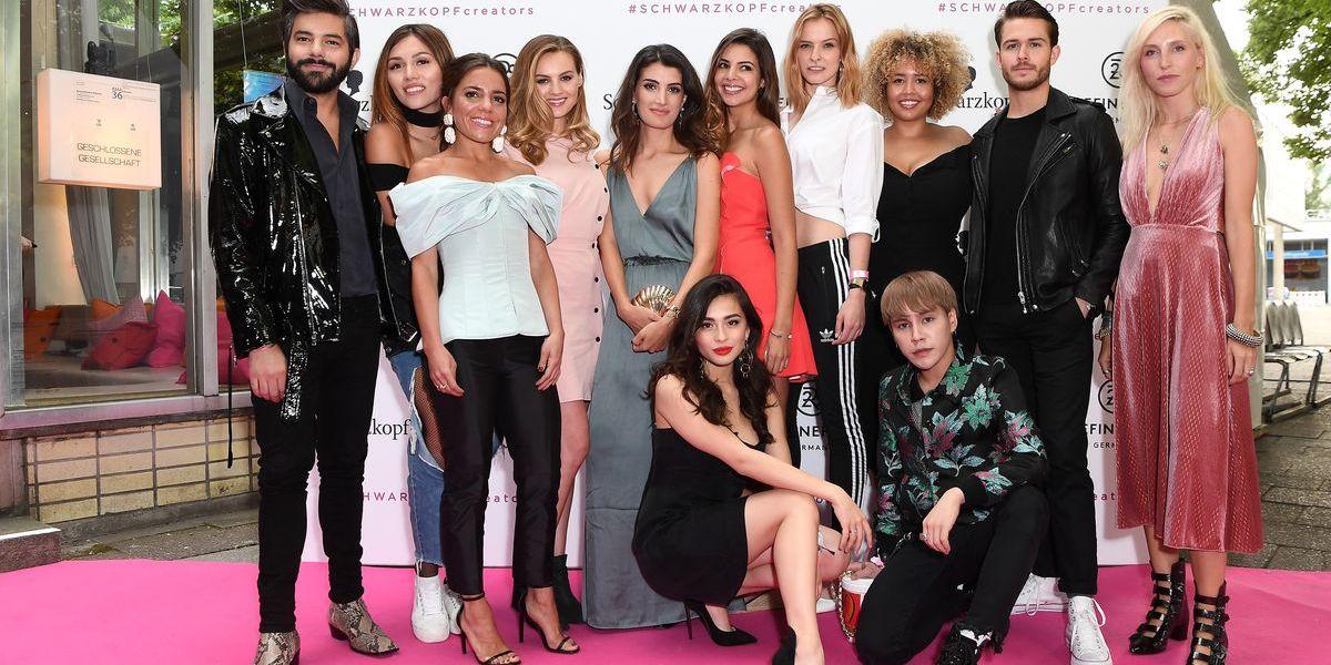 Schönheit und Style: Party mit Top-Influencern