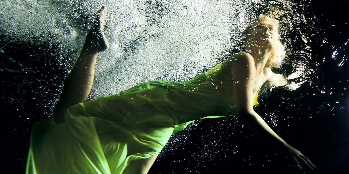 Unterwasser-Shooting: Fotograf auf Tauchgang
