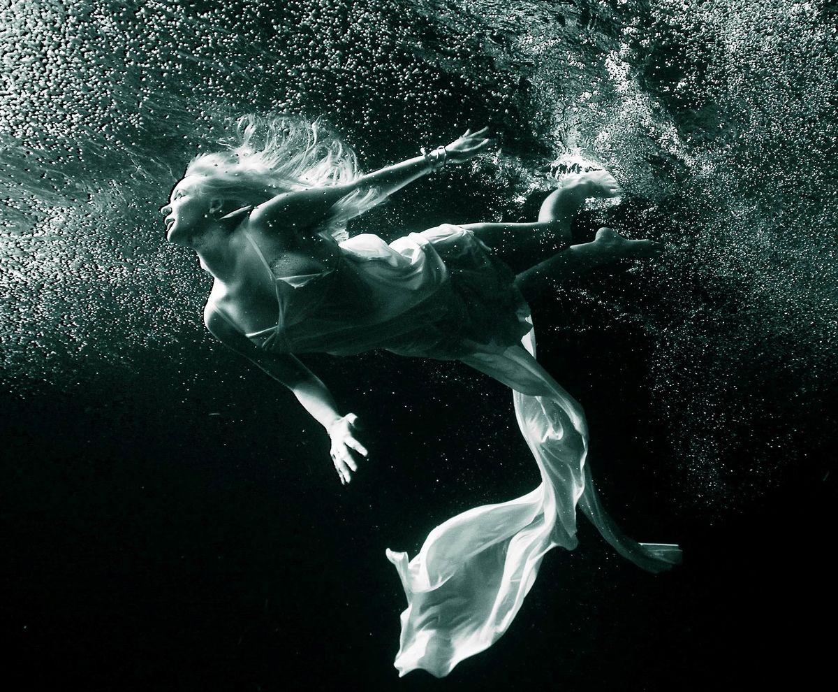 Peter Hofstetter, Unterwasser-Shooting: Fotograf auf Tauchgang