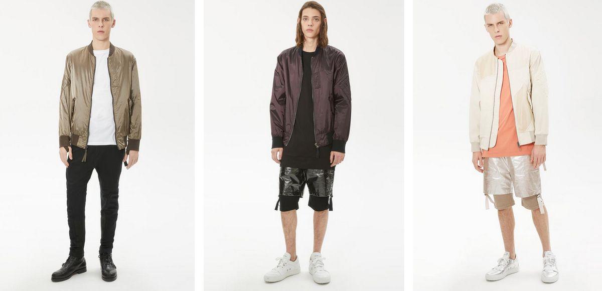 Aktuelle Mode unter dem Label Helmut Lang
