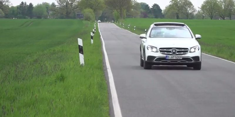 #Test Video: Mercedes-Benz E-Klasse All-Terrain