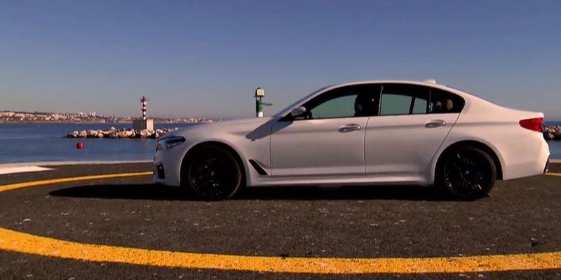 #Test Video: BMW 540i